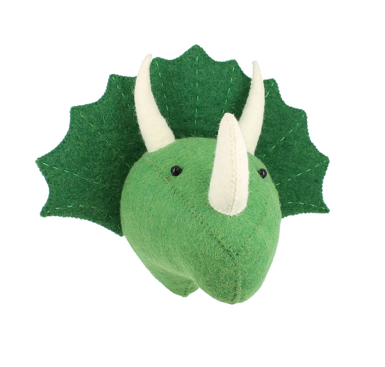 Mini Triceratops Animal Head