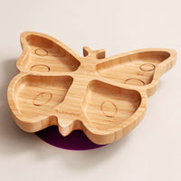 Bamboo Butterfly Plate