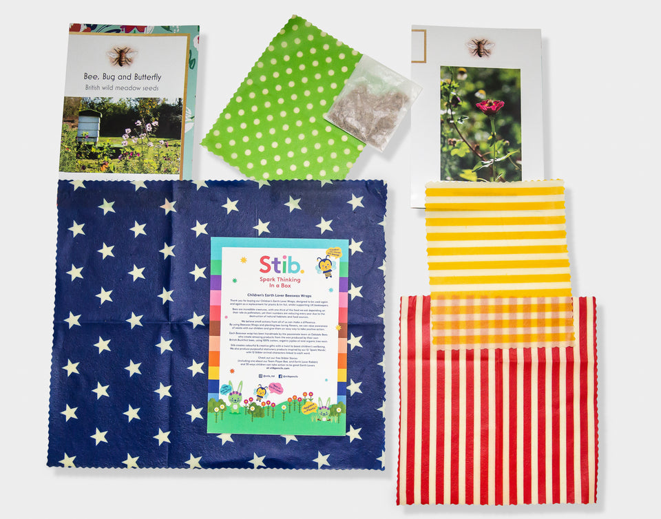Beeswax Lunch Box Wraps
