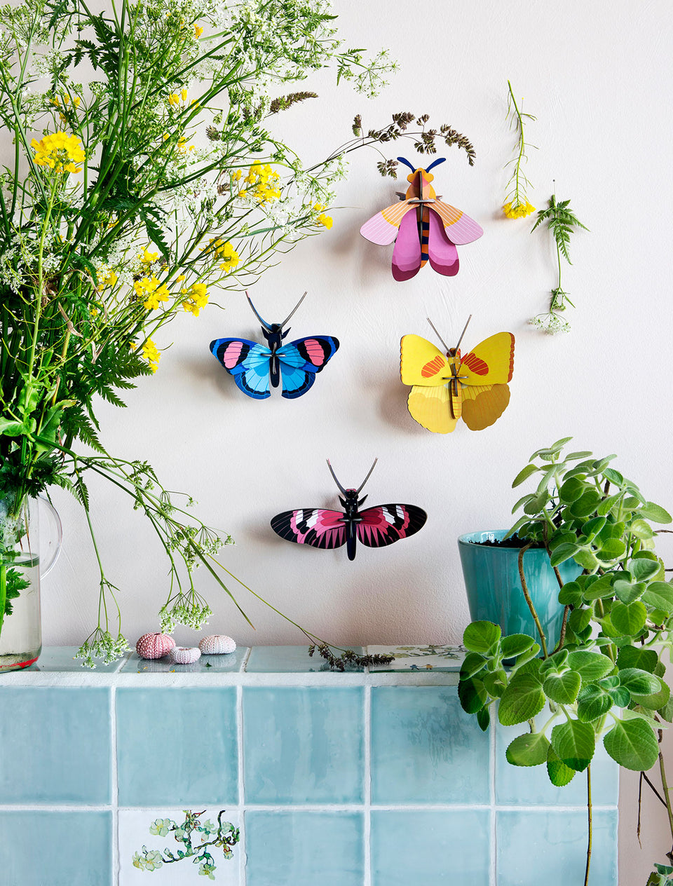 Peacock Butterfly Wall Decoration - PomPom