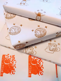 Recycled Christmas Wrapping Paper