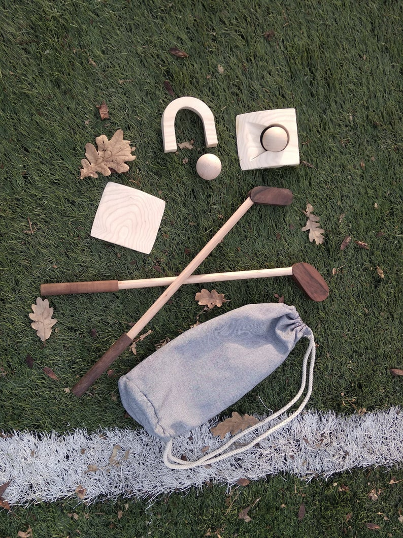 Wooden Golf Set