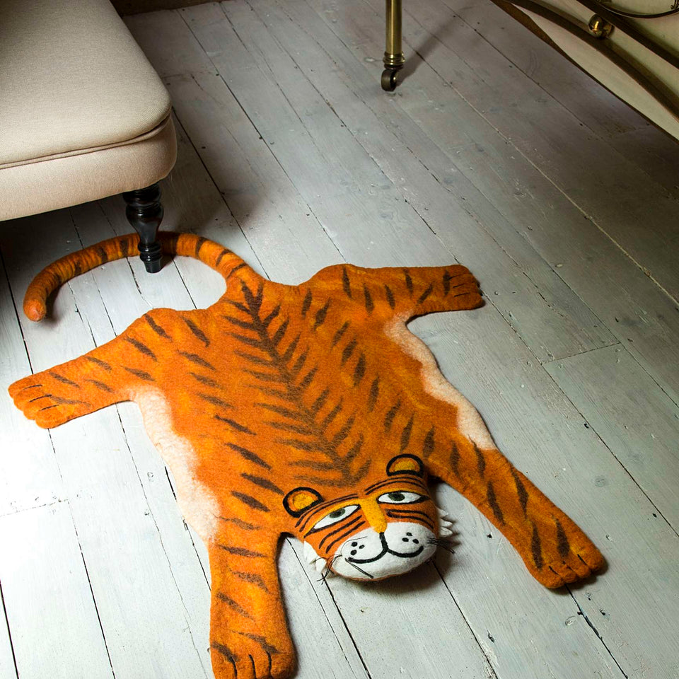 Raj the Tiger Animal Rug