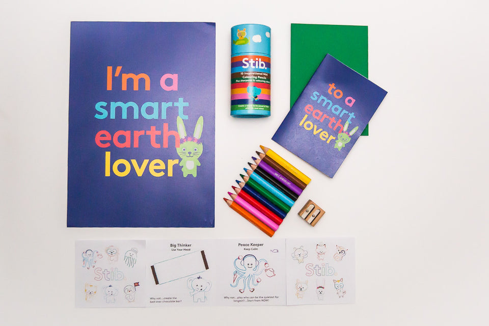 Smart Earth Mini Pencil Gift Pack
