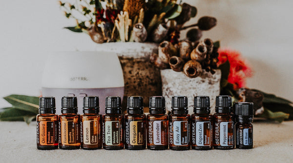 Diffuser Blends for the Home Essentials Kit