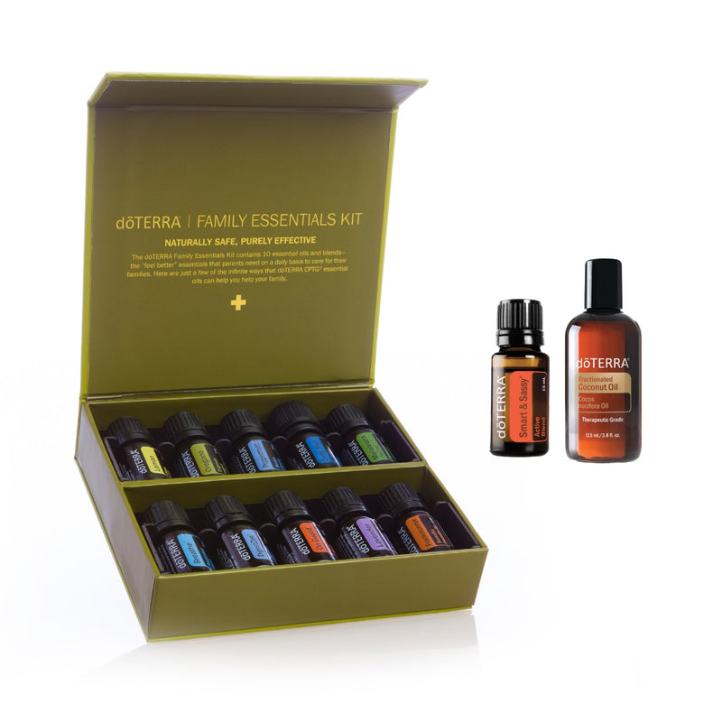 doTERRA Family Essentials Kit with Smart & Sassy