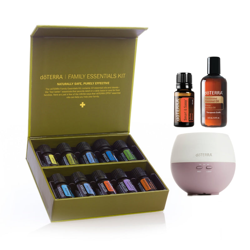 doTERRA Family Essentials Starter Pack with Smart & Sassy