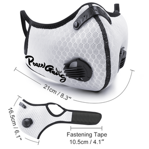 PEACE GANG Fashion Facemask with Breathing Valve