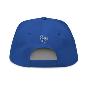 PEACE GANG High Profile 5 Panel Snap-Back Flat Bill Cap