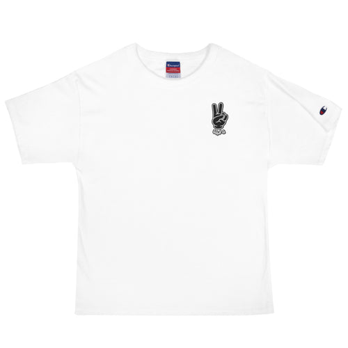 PEACE GANG Embroidered Champion T-Shirt