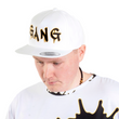 Load image into Gallery viewer, PEACE GANG High Profile Five Panel Snap-Back Flat Bill Cap