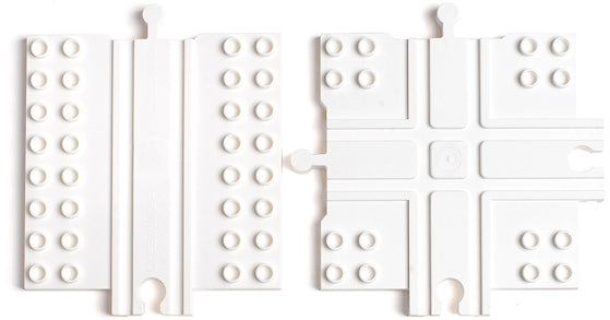 Block Platform Combo 2-Pack - Straight & Cross Track