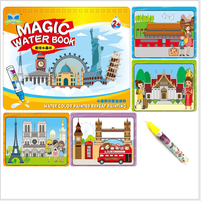 Birthday Gifts Toy Toys Coloring Numeral Animal Children Baby Kids Magic Pen