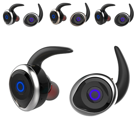 Sports Separate Waterproof Wireless Bluetooth Mini In-Ear Headset Ear Headphones