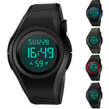 Students Simple Design Multi-Function Waterproof Digital Movement Sports Watch
