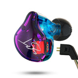 Pro Hybrid In-ear Super Bass Earphones Dynamic Music HIFI Headphones Earbuds