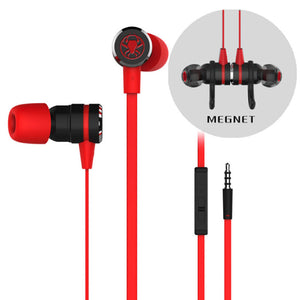 Fashion In-ear Wired Headset Earphones Gaming Earphone With Microphone