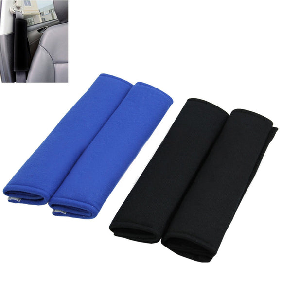 2x Car Seat Belt Pads Harness Safety Shoulder Strap Cushion Backpack Protector