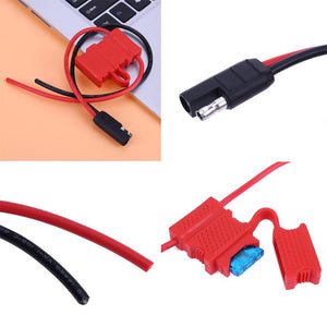 power cord for moto mobile radio with fuse box for sm120 sm50 gm300 etc