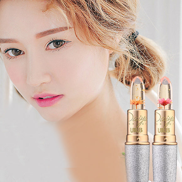 Nice Flower Magic Color Changing Lip Gloss Moisturizing Clear Lipstick  3.8g