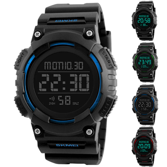 Men's Multi-function Waterproof Fashion Outdoor Sports Digital Movement Watch