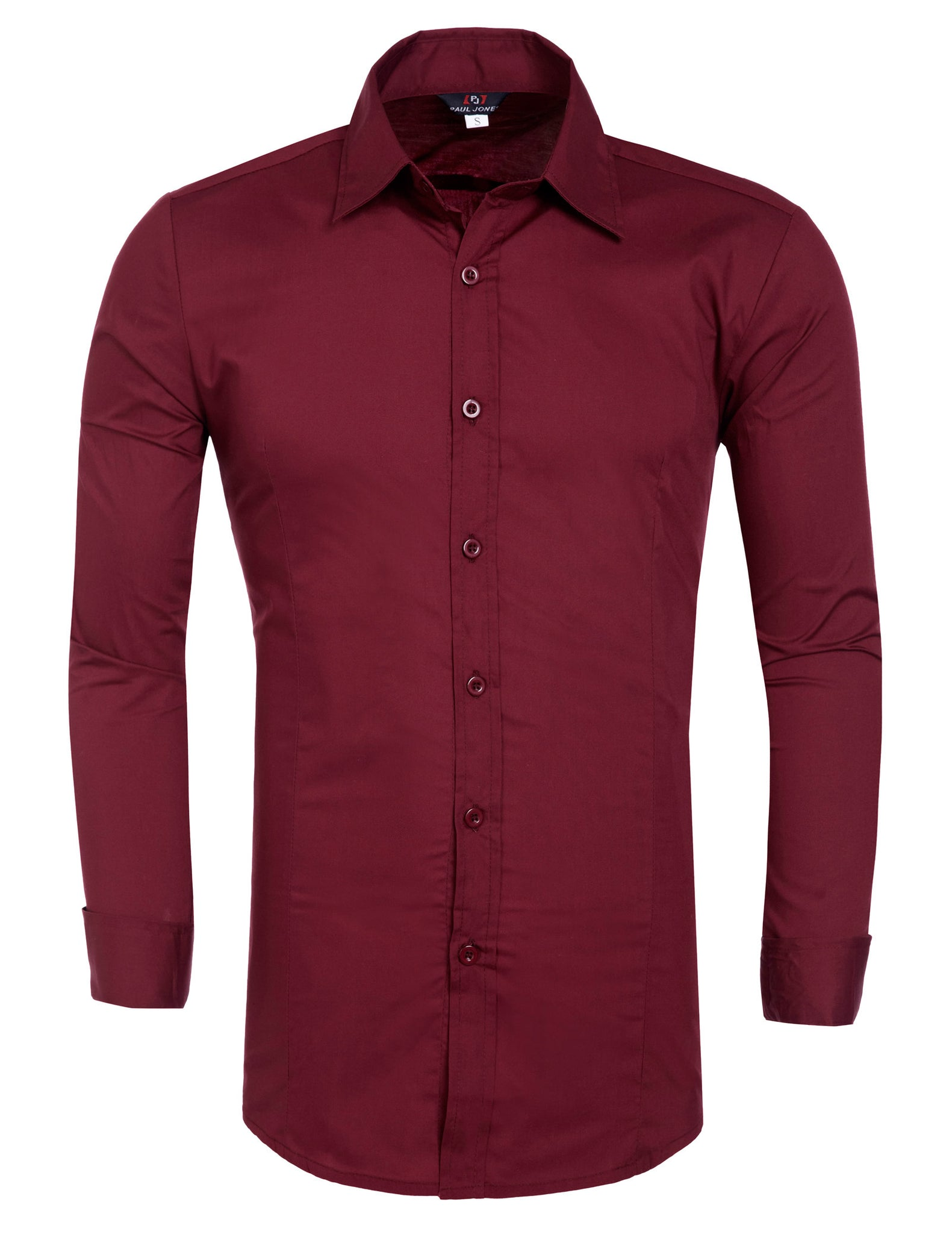 acf282f53ad62e ... 2012 Collection New Mens Luxury Formal Casual Stretch Slim Fit Dress  Shirt Tops
