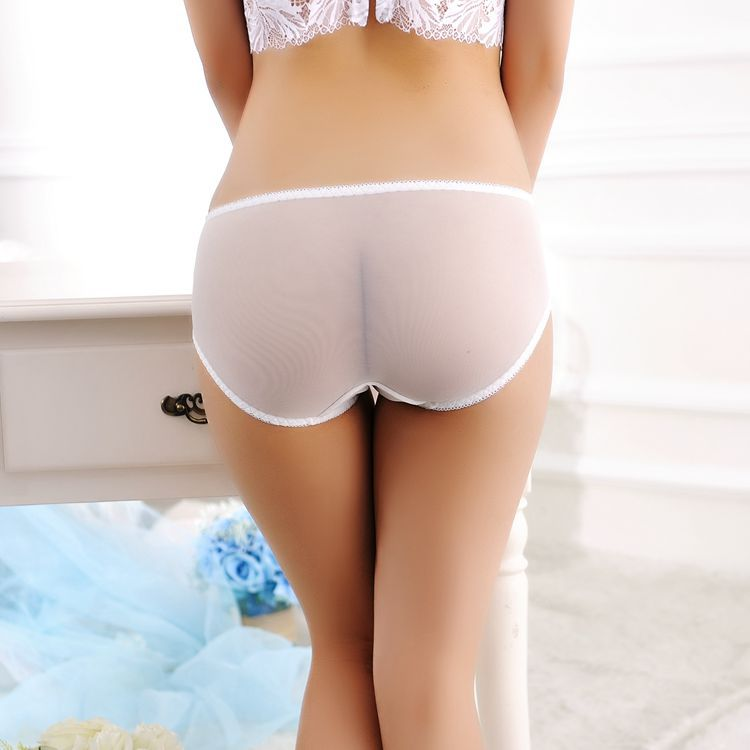 Sexy Women Shorts Brief Panties Thongs Lady Transparent Panty Lingerie  Underwear