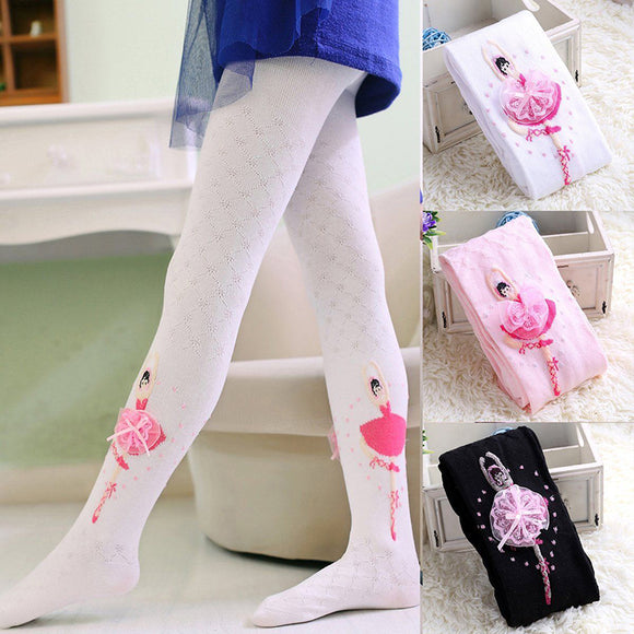 Baby Girl Kid Ballet Dance Hosiery Pantyhose Pants Stockings Socks Tights S M L