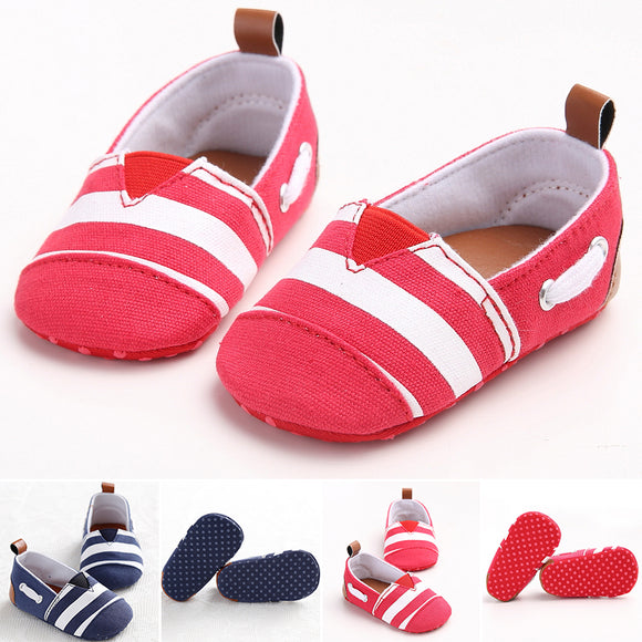 Baby Infant Newborn Toddler Shoes Boy Girl Soft Sole Sneaker Canvas Shoes Casual