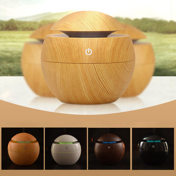 Car Air Humidifier Diffuser Essential Oil Ultrasonic Aroma Mist Purifier Natural