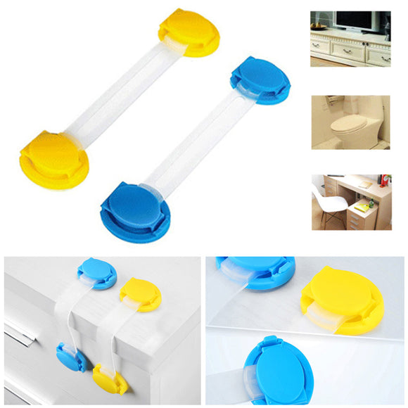 20 X Toddler Baby Kids Safety easy Lock For Draw Cupboard Cabinet Fridge Door