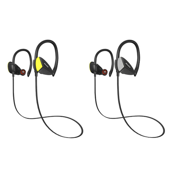 Wireless Back Headphones Waterproof Bluetooth v4.1 Sports Mini In-Ear Earphones
