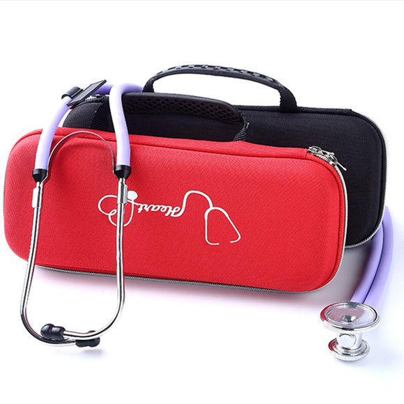 Lightweight Dual Head Stethoscope Storage Case Bag For Littmann Classic II Ill
