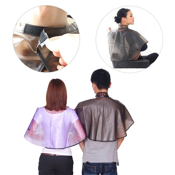 Hair Cutting Collar Magnetic Waterproof Colouring Cape Barber Cloth Hairdressing