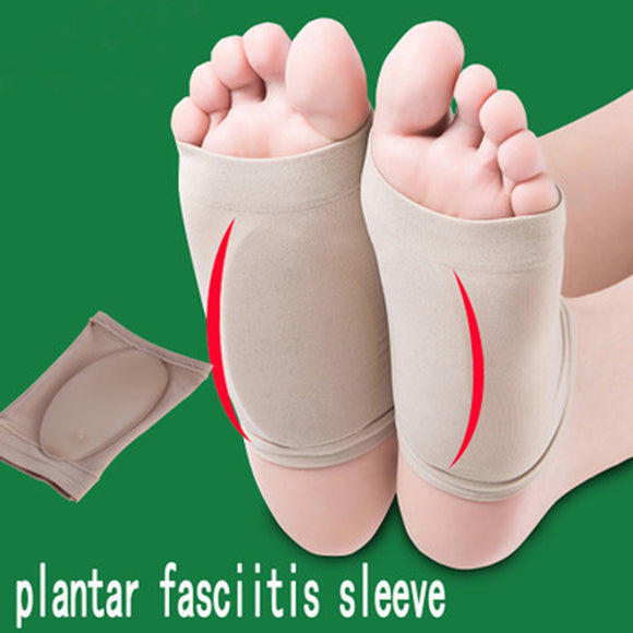 2pcs comfortable Gel Plantar Fasciitis Arch Support Arch Cushion Insole Relieve~