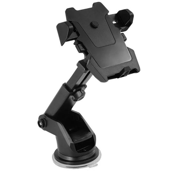 Telescopic Car Dashboard Mount Mobile Phone Holder For iPhone Samsung HTC