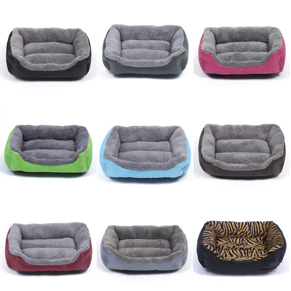 Fashion Large Pet Dog Cat Bed Puppy Cushion House Soft Warm Mat Blanket