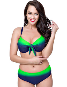 Hot navy blue vibrant floral beachwear sexy bikini sets summer bikini beach B1