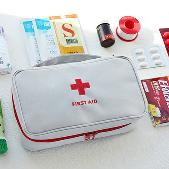 Durable Car Home Outdoor Travel First Aid Kit Medical Emergency Survival Box