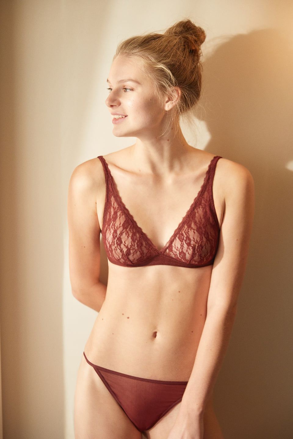 Manhattan Bordo Bralette
