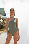 Silvia AquaGreen Swimsuit
