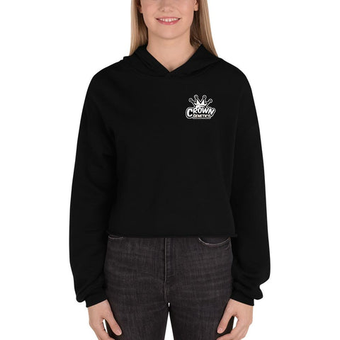 Crown OG Women's Fleece Crop Hoodie