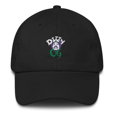 Dizzy OG Classic Logo Embroidered Dad Cap - Crown Genetics