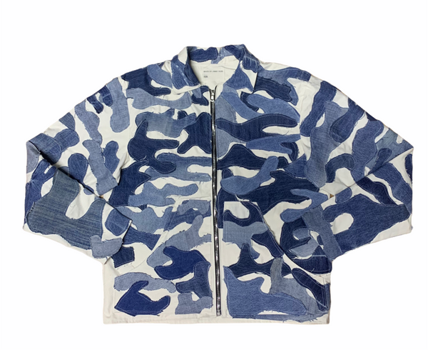 CAMO PATCHWORK JACKET