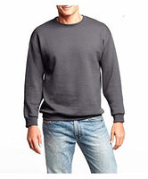 Hanes Men's Slate Gray Large Premium Fleece Sweatshirt with Fresh IQ