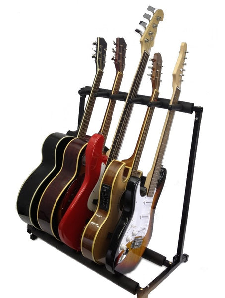 5 Instrument Guitar Stand / Display Rack