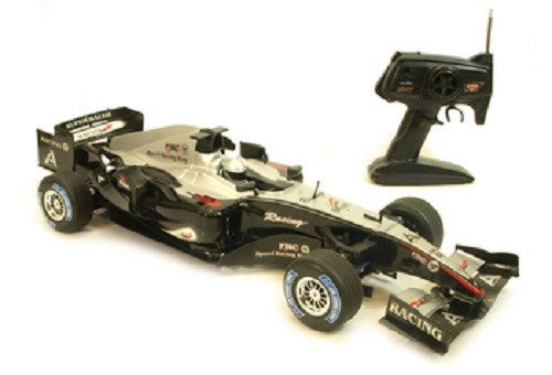 RADIO CONTROL FORMULA BLACK 1 RC F1 RACE CAR 1:8 SCALE