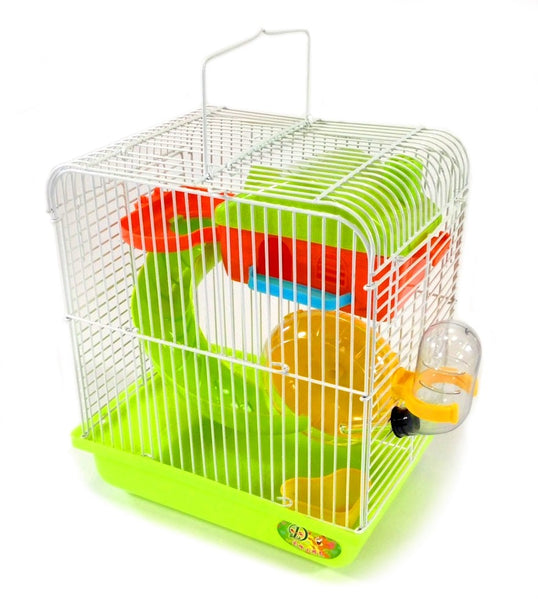 Hamster Small Rodent Cage Habitat Playhouse Gerbil Mouse Mice + Accessories New