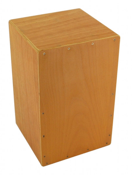 CAJON BOX DRUM Natural Wood Finish with Gig Bag  Acoustic Drum