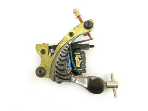 TATTOO MACHINE /GUN - TWO TONE